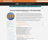 Forestry and Natural Resources Model