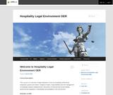 Hospitality Legal Environment