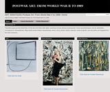 ART 3094/7024G-Postwar Art: From World War II to 1989