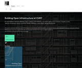 Building Open Infrastructure at CUNY
