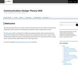 Communication Design Theory