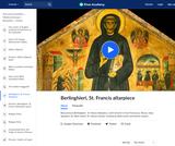 Berlinghieri's St. Francis Altarpiece