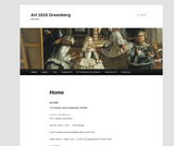 ART 1010 Art: Its History and Meaning (Greenberg)
