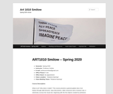 ART 1010 Art: Its History and Meaning (Smilow)