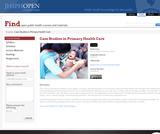 Case Studies in Primary Health Care