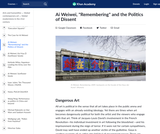 """Ai Weiwei's """"Remembering"""" and the Politics of Dissent"""