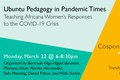 Sample Assignment and Blog on Africana Women Leaders through COVID