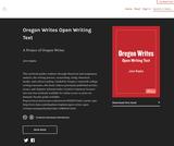 Oregon Writes Open Writing Text