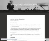 Brooklyn College Documentary Production – FILM 2201