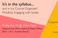 A Syllabus Planner for Students by Marta Cabral and Niyati Mehta