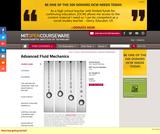 Advanced Fluid Mechanics, Fall 2013