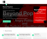 Beyond Populism: Angry Politics and the Twilight of Neoliberalism