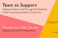 Building & Managing Teams in Support-Based Teaching by Lea Fridman