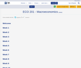 ECO 201 - Macroeconomics
