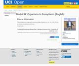BioSci 94: Organisms to Ecosystems (English)