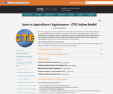 Agriscience / Intro to Agriculture