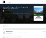 CISC 3140 Tools and Techniques in Software Engineering
