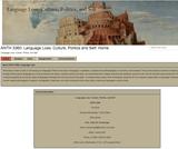 ANTH 3360: Language Loss: Culture, Politics and Self