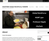 Hospitality Workforce Management in a Global Marketplace
