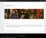 Dante's Works